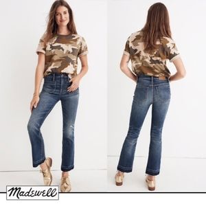Madewell Cali Demi-Boot Jeans: Patch Pocket